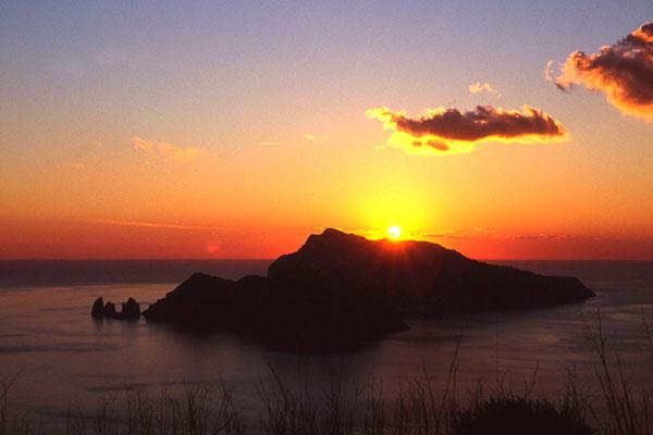 capri al tramonto