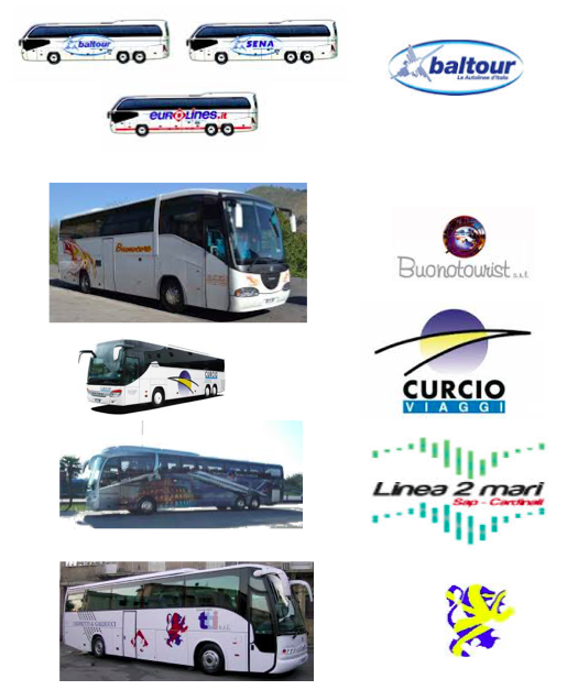 Noleggio autobus - De Cesare Viaggi
