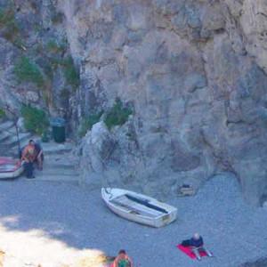 spiaggia in costiera amalfitana